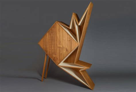 Origami Furniture - aljoud lootah s oru origami furniture is made from teak