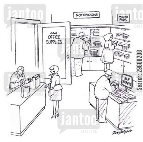Office Supplies Jokes Criminal Records Humor From Jantoo