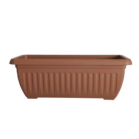 planter pots wilko trough planter athens terracotta colour 70cm at