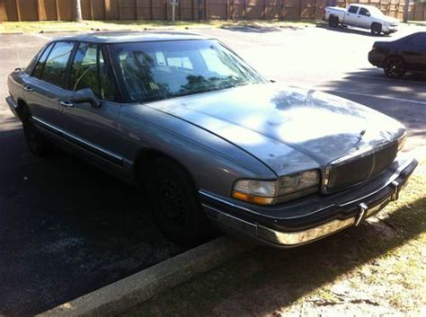 buick park avenue seats buy used 1994 buick park avenue leather seats v6 3800