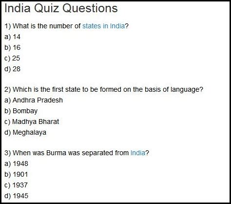 quiz questions latest bloggerati of the fortnight vincent d souza indian