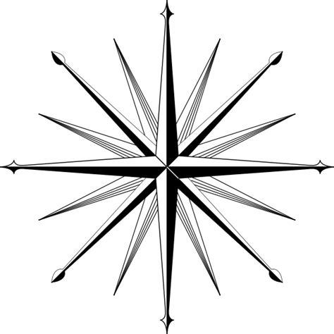 compass tattoo outline compass blank clipart best
