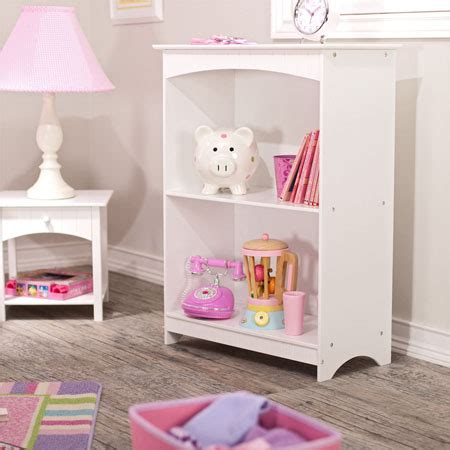 Kid Friendly Design And Color Of Nantucket 2 Shelf Kid Friendly Bookshelves