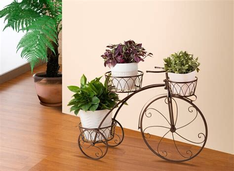 Home Decor Online Stores India bicycle flower stand shelf the ground balcony flower