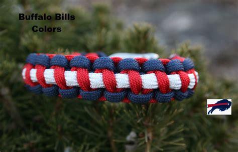 buffalo bills colors x cords buffalo bills colors paracord bracelet