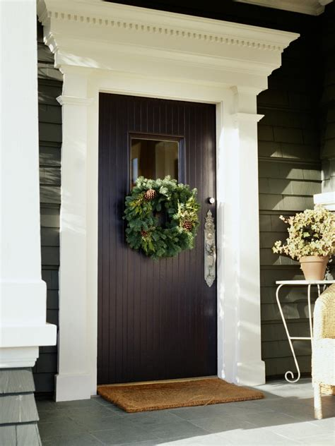 Exterior Door Moulding Door Decorations Interior Design Styles And Color Schemes For Home Decorating Hgtv