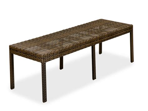 Wicker Patio Bench by Dining Resin Wicker Furniture Outdoor Patio