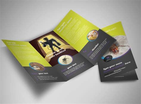Pest Control Services Tri Fold Brochure Template Pest Brochure Template
