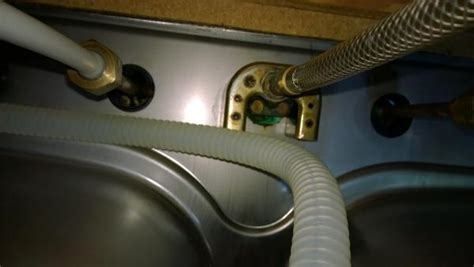 removing faucet from kitchen sink how to remove kitchen faucet with u bracket doityourself