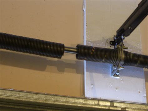 Garage Torsion Garage Door Springs Is The Most Prone To Damage