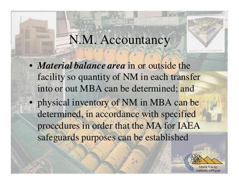 Nm State Mba by Nuclear Material Accountability And