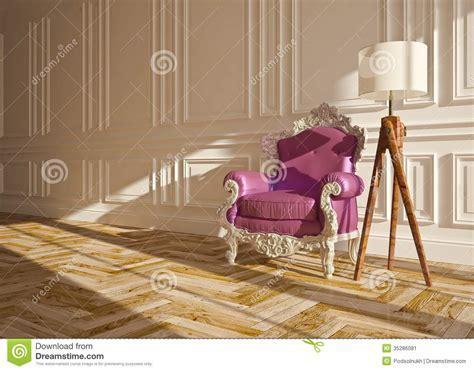 Classic interior stock illustration. Image of life