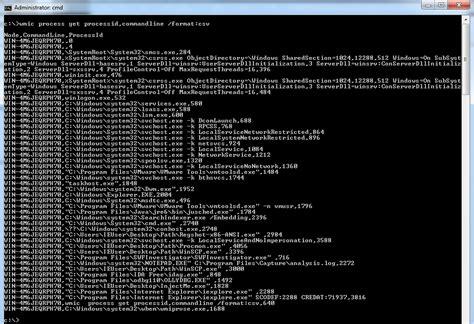wmic format csv c 243 mo comprobar si un equipo windows est 225 infectado