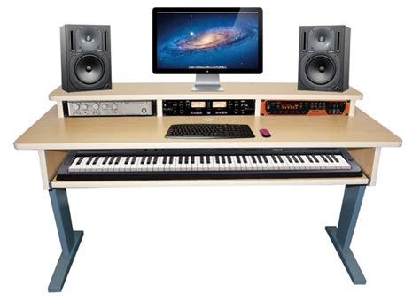 Az 2 Maple Keyboard Studio Desk