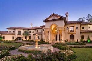 Mediterranean Home Builders by Stunning Mediterranean Mansion In Houston Tx Built By