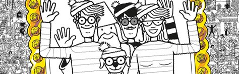 Where S Wally Free Colouring Pattern Download Whsmith Blog Free Coloring Pages Wally Sox