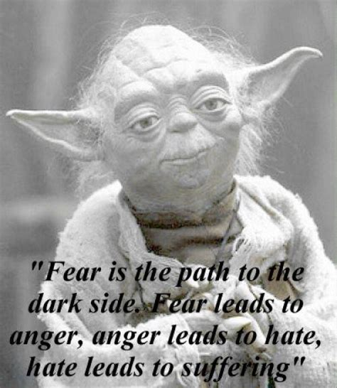 Yoda Quotes Hate