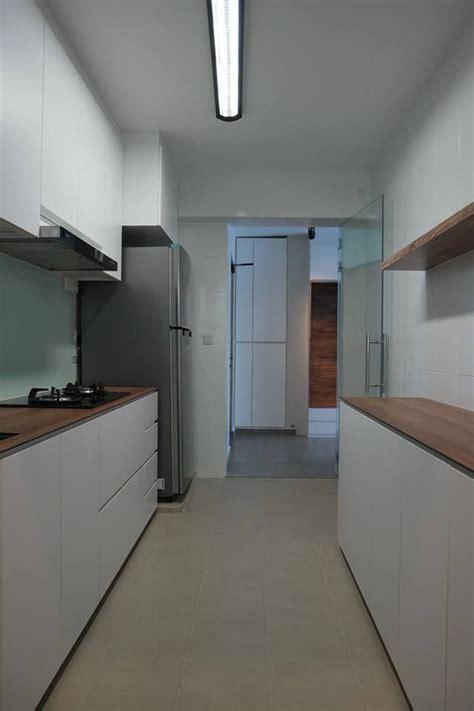 Kitchen Design For Hdb Hdb 4 Room Bto Lush Interior Design Singapore Interior Design Interior Design