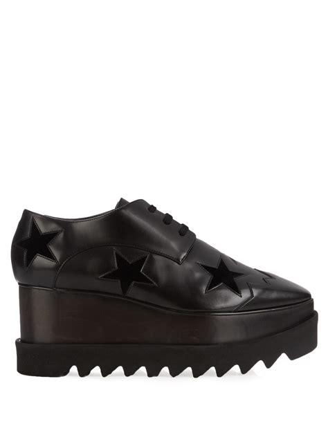 Platform Faux Leather Shoes stella mccartney elyse faux leather platform shoes in