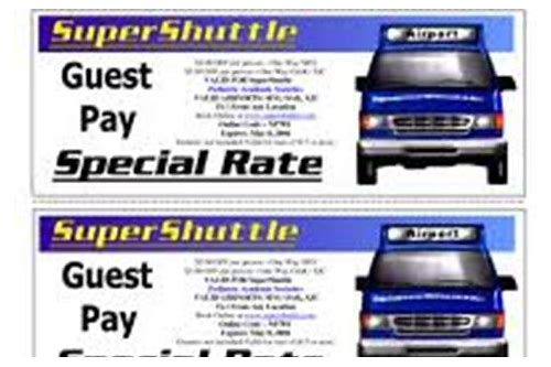 las vegas airport shuttle coupon codes