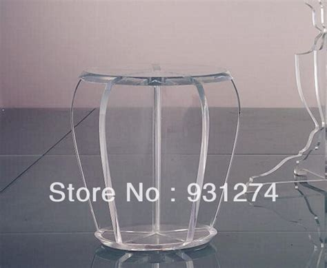 acrylic stool perspex plexiglass dining stool lucite chair