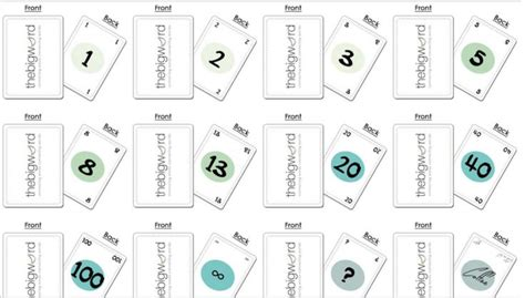 printable planning poker cards printable planning poker cards software testing club