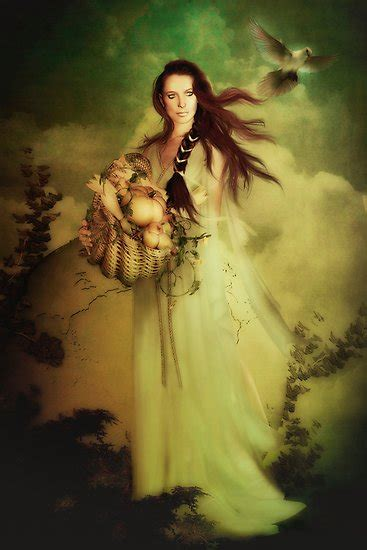 harvest of demeter goddess symbol quot demeter goddess of the harvest quot by shanina conway redbubble