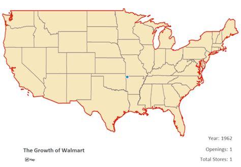 america map gif maps of walmart taking america business insider