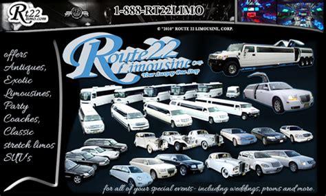 limo service york pa route 22 limousine about route 22 limousine nj ny pa