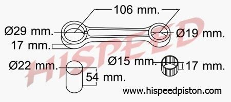 Npp Connecting Rod Stang Seher Blitz why45 motor spesifikasi connecting rod stang seher kawasaki