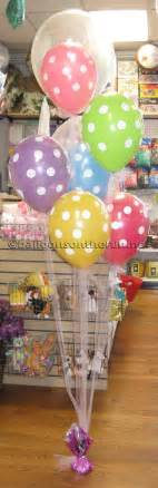 baby shower balloon centerpieces favors ideas