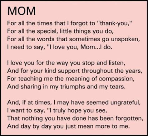 thank you mother quotes. quotesgram