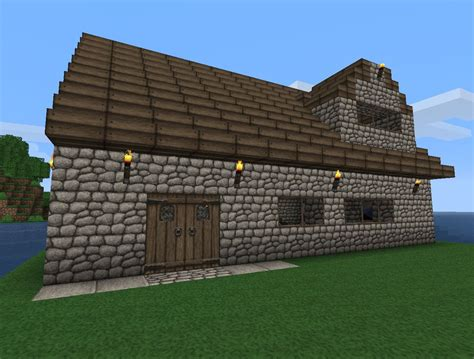 small house minecraft small cottage house minecraft project