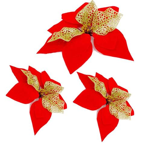 artificial poinsettias wholesale buy wholesale poinsettias flower from china