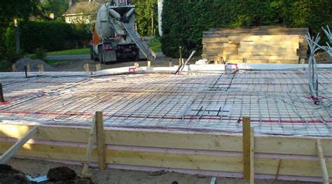 How To Seal Basement Concrete Floor by Step By Step Guide For How To Build A Slab On Grade