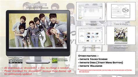 download themes kpop for windows 7 2013 theme infinite kpop for windows 7 by hkk98 on
