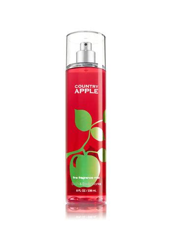 apple scents country apple fine fragrance mist signature collection