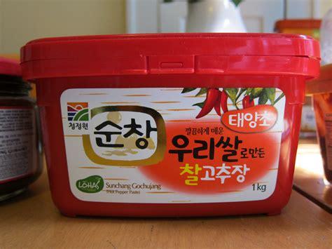 Sajo Gochujang Sambal Pasta Korea Pepper Paste the best gochujang one fork one spoon