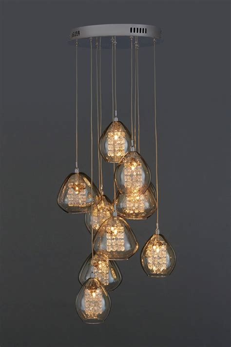 Next Pendant Lights Smokey Cluster Pendant Next Uk Lighting Pinterest