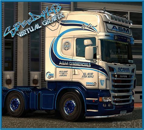 a m scania rjl a m commercials skin ets 2 mods