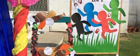Sports Day Decoration by Sports Day Decoration Ideas In School Www Pixshark