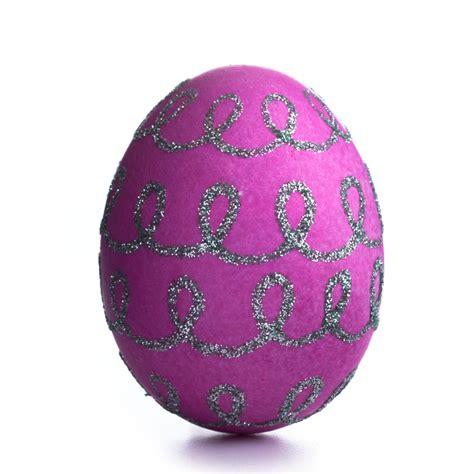 ideas for easter eggs embossed and glittered easter egg decorating ideas martha stewart