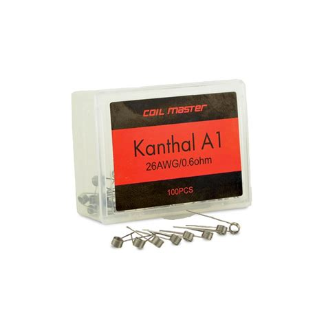 Sale Khantal Prebuild Coil Master 22awg 0 4ohm Kantal A1 coil master pre built kanthal a1 wire 7 9 493 ave40