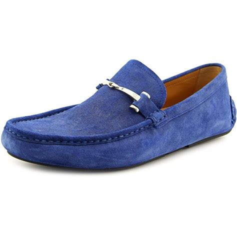 mens loafers blue gucci labrador suede blue loafer loafers