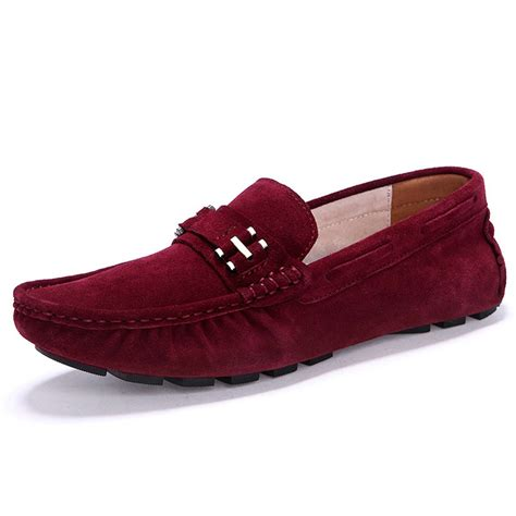 mens velvet slippers 2015 new casual mocassin suede loafers driving mens