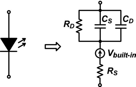 resistor equivalent circuit model led s electrical equivalent circuit