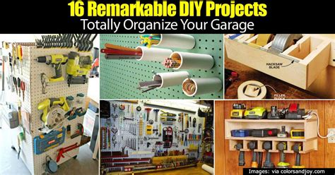 pictures diy ideas for organizing your shop 16 remarkable diy projects totally organize your garage home garden pulse