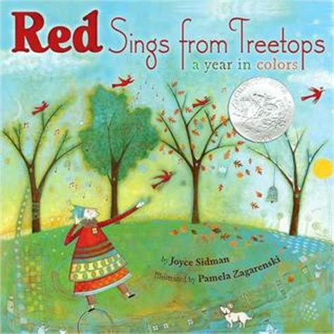 who sings in color sings from treetops a year in colors joyce sidman
