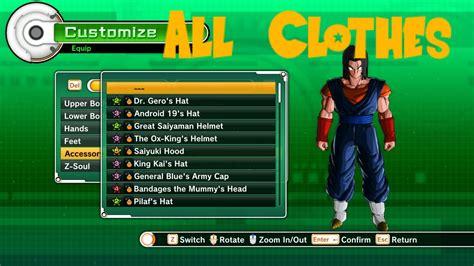 Sweaterhoodiezipper Fox 5 King Clothing xenoverse all clothes