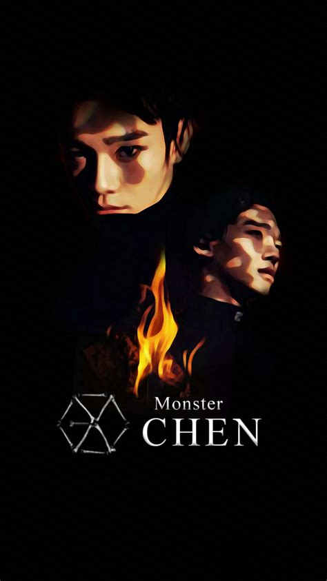 exo wallpaper livejournal wallpaper exo 2016 monster teaser chen by